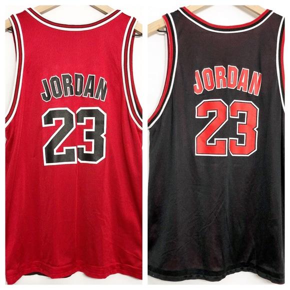new style 48ef1 e7b01 Champion || 90s Reversible Jordan 23 Bulls Jersey